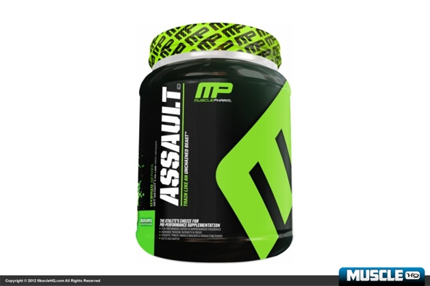 MusclePharm Assault - 32 Servings